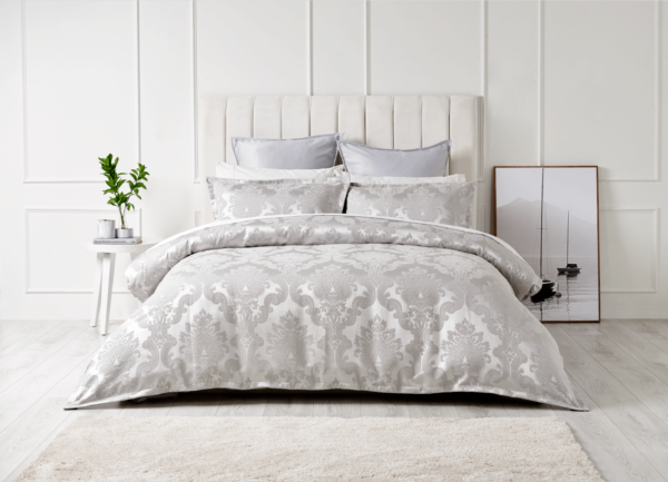 Panaled upholstered Bed Head