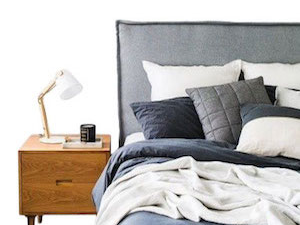 pillay upholstered bedhead