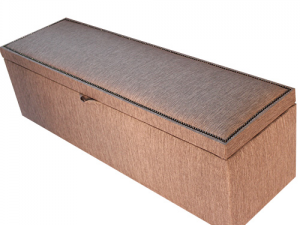 Upholstered Blanket box or shoe box