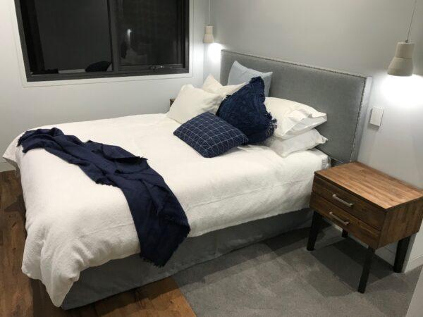 Eden studded bedhead