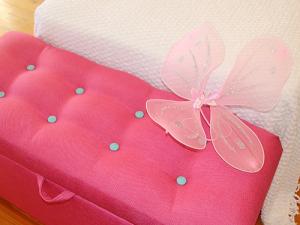 BRIGHTON Upholstered Blanket box or shoe box