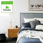 Pillay bedhead as featured on houzz