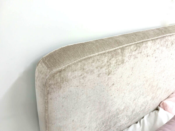Piped Upholstered bedhead
