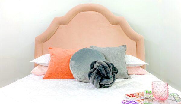 Juliette upholstered stylish bedhead headboard