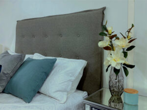 stylish custom made headboard