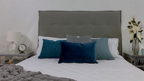 stylish upholstered headboard