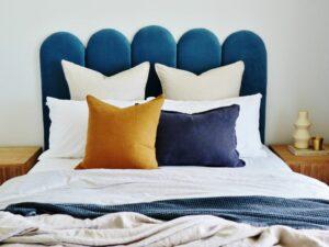 Panelled bedhead
