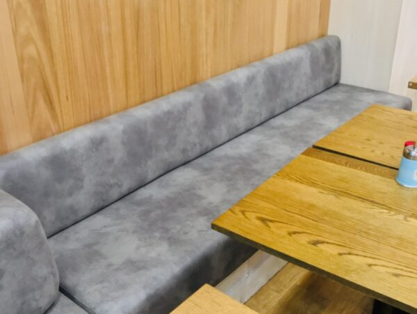 Commercial custom made upholstered seating