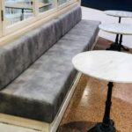 Comercial custom made upholstred seating 10
