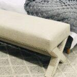 corossed legs footstool